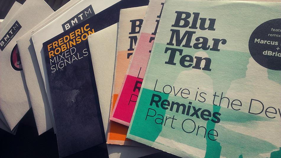 Blu Mar Ten vinyl
